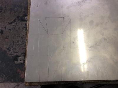 後ろ前とシート&左右の製作物 ようやく仮組完成が見えてきたの巻 GSX250S編